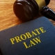 Probate law book with gavel, AZ Probate Laws, Cholewka Law, Gilbert AZ