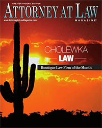 Attorney at Law Magazine cover