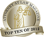 Attorney at Law Magazine Top Ten of 2012